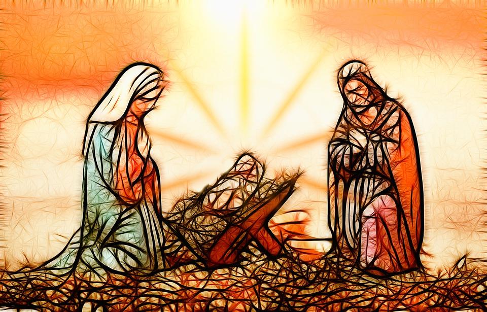 Christmas, Birth, Jesus, Crib, Christmas Eve, Religion