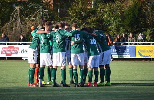 Football, Sport, Team, Team Spirit