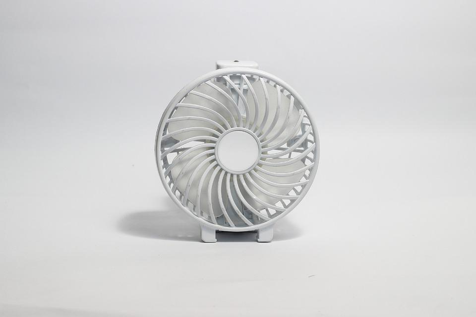 rechargeable fan in India