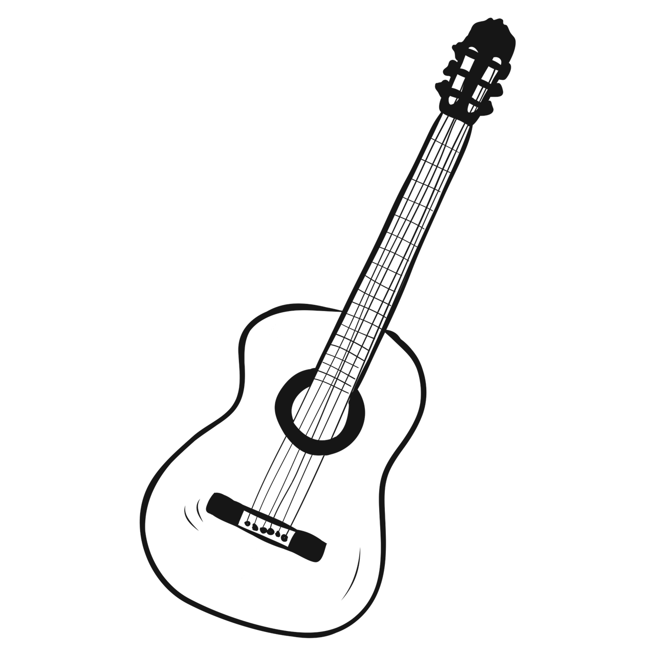 Guitar Drawing Music Free Image On Pixabay