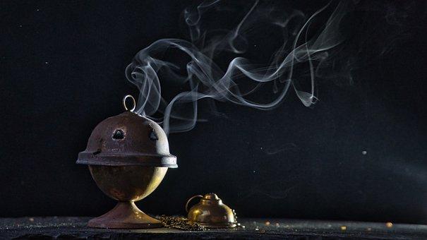 Incense, Avengers, Censer,, Smoke
