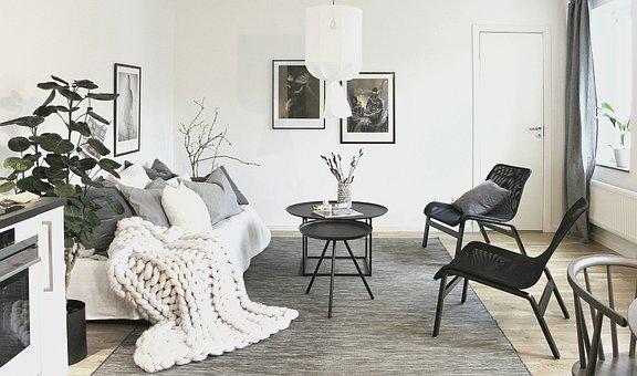 Maison, Appartement, Intérieur, Moderne