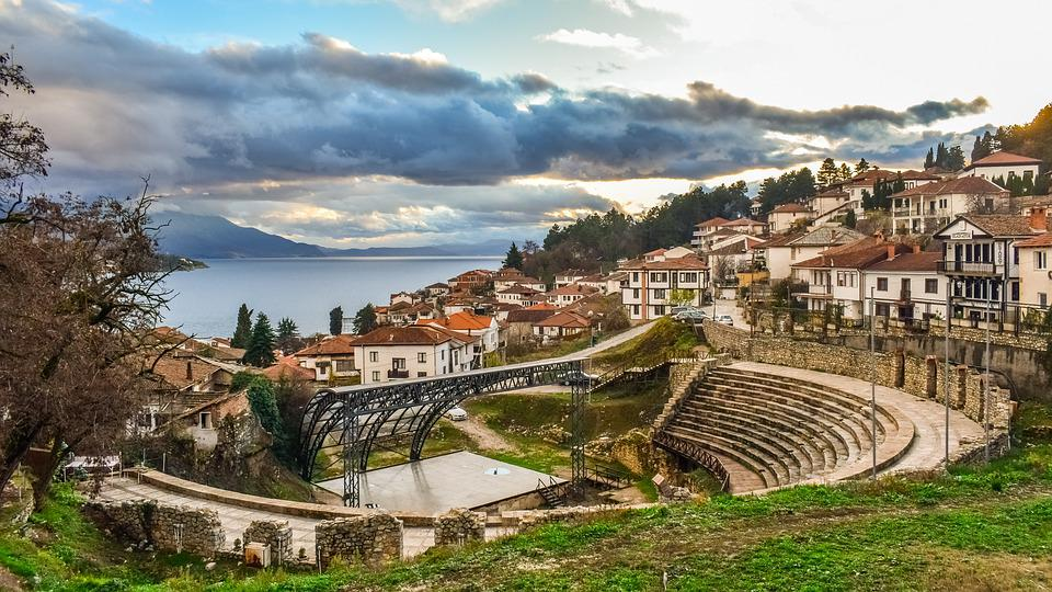 Ohrid, North Macedonia, Town, Architecture