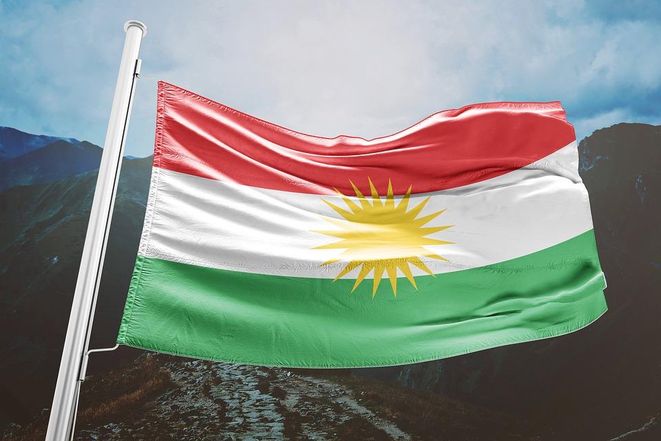 картинки с флагом курдистана