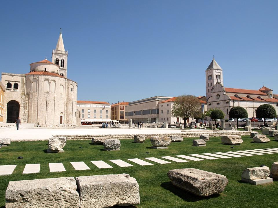 Zadar church in Croatia