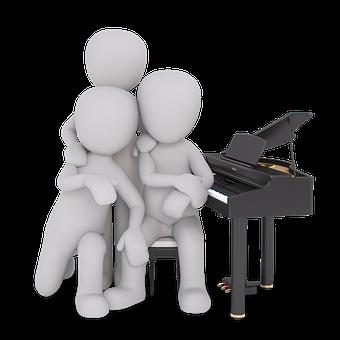 Piano, Music, Instrument, Musician