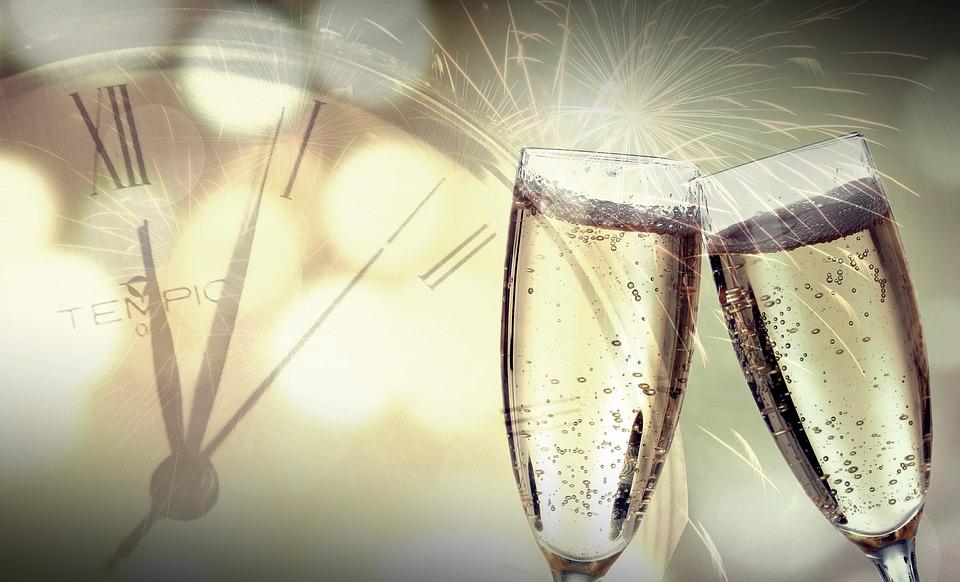 Fin De Año, Día De Año Nuevo, Fireworks, 2020