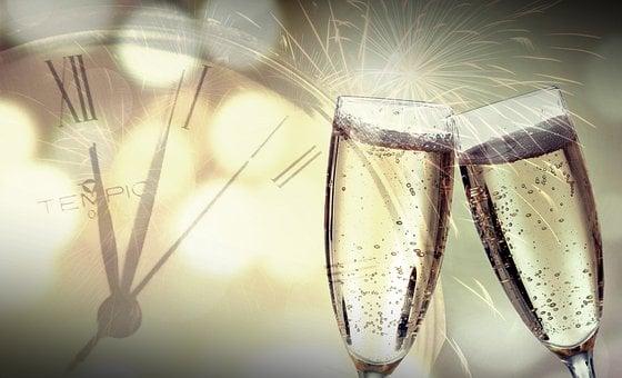 大晦日, 新年の日, 花火, 2020, 今年の変わり目, 年賀, パーティー