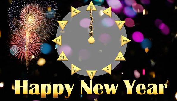 Godt Nytt År, Midnatt, New Year ' S Eve