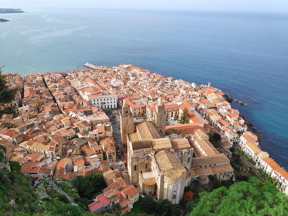 Sicilië, Mediterrane, Historisch Centrum, Kust