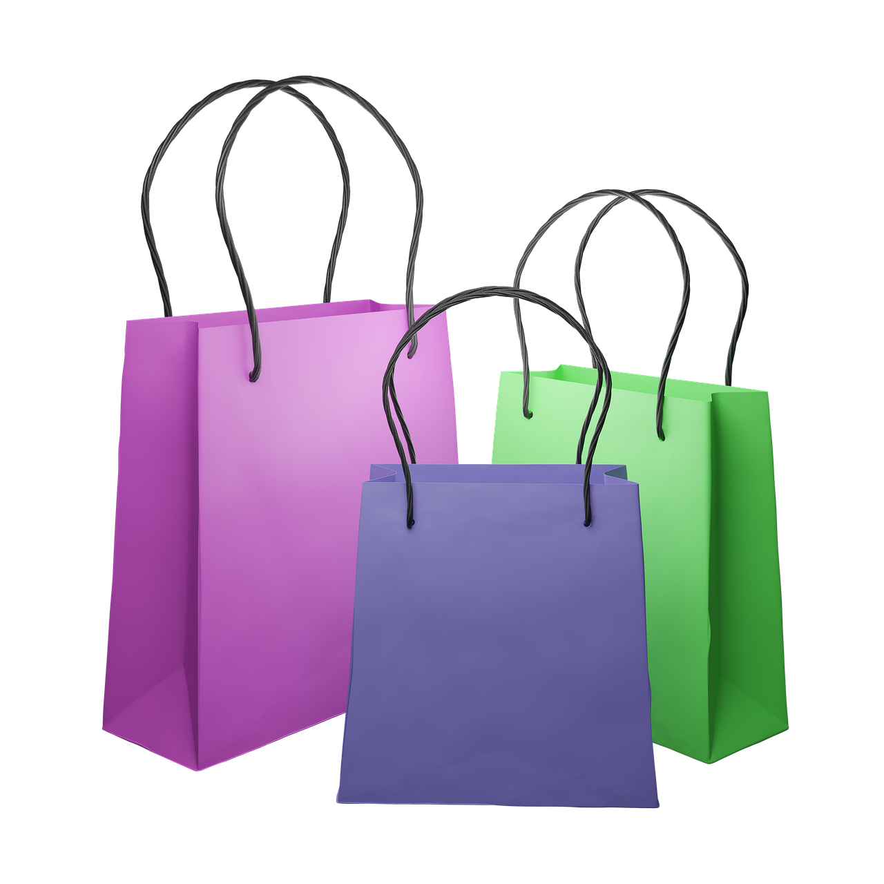 Paper Shopping Bags Empty - Free image on Pixabay