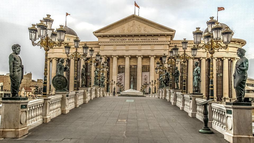Denkmal, Mazedonien
