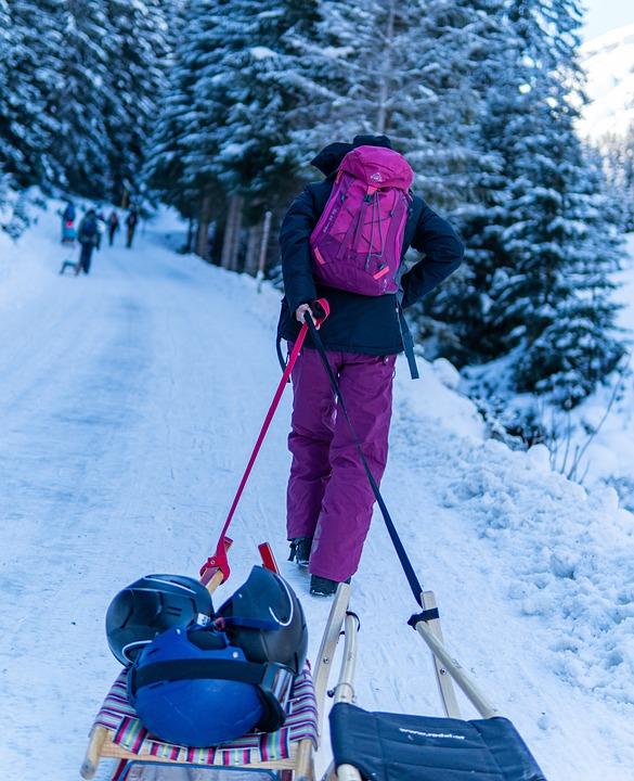 Rodelen Tirol Sneeuw Gratis Foto Op Pixabay