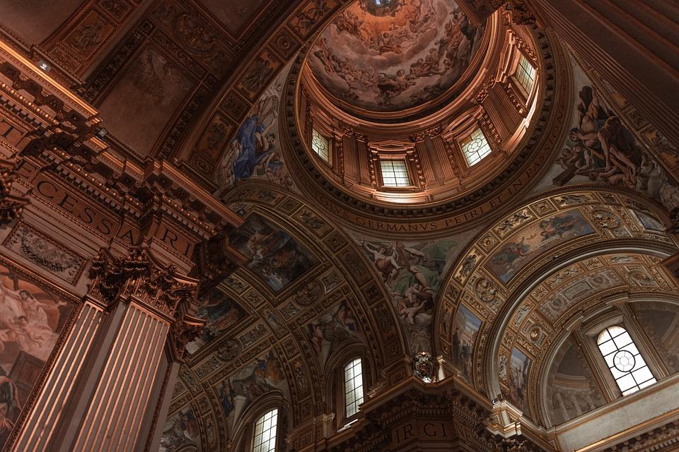 French Empire Ornamental Ceiling
