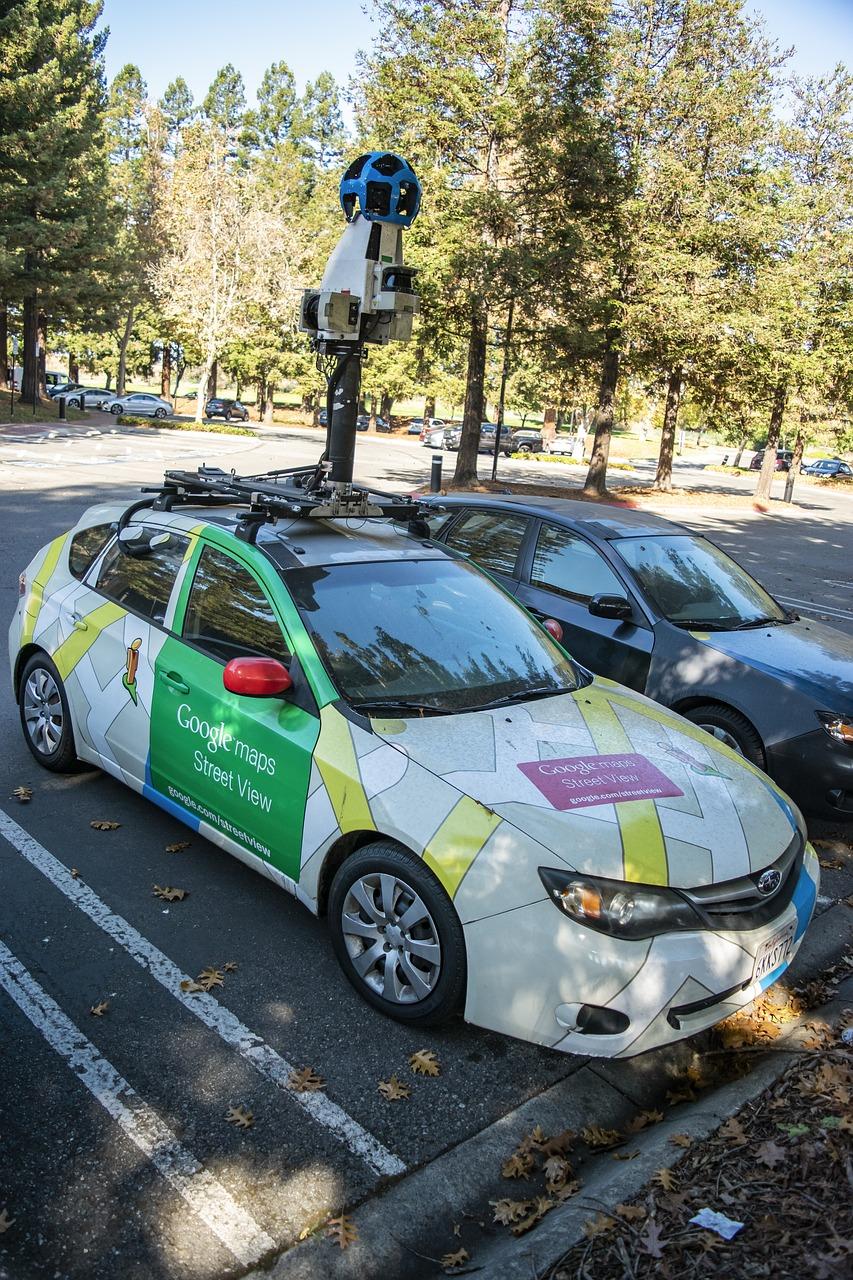 Google Maps Street View Car Free Photo On Pixabay