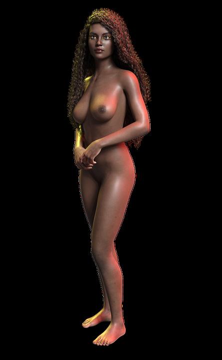nackt afrika frau
