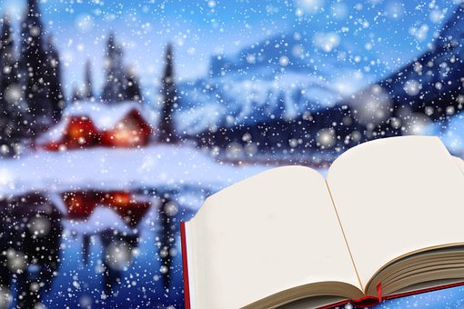 Winter, Snow, Landscape, Book Hut, Cold