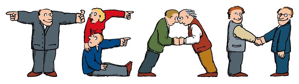 Equipo, Trabajo En Equipo, Cooperación, Grupo, Colegas