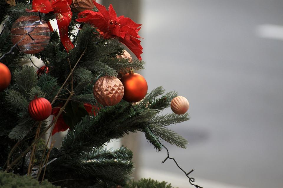 Navidad, Árbol, Ornamento, Invierno, Fiesta