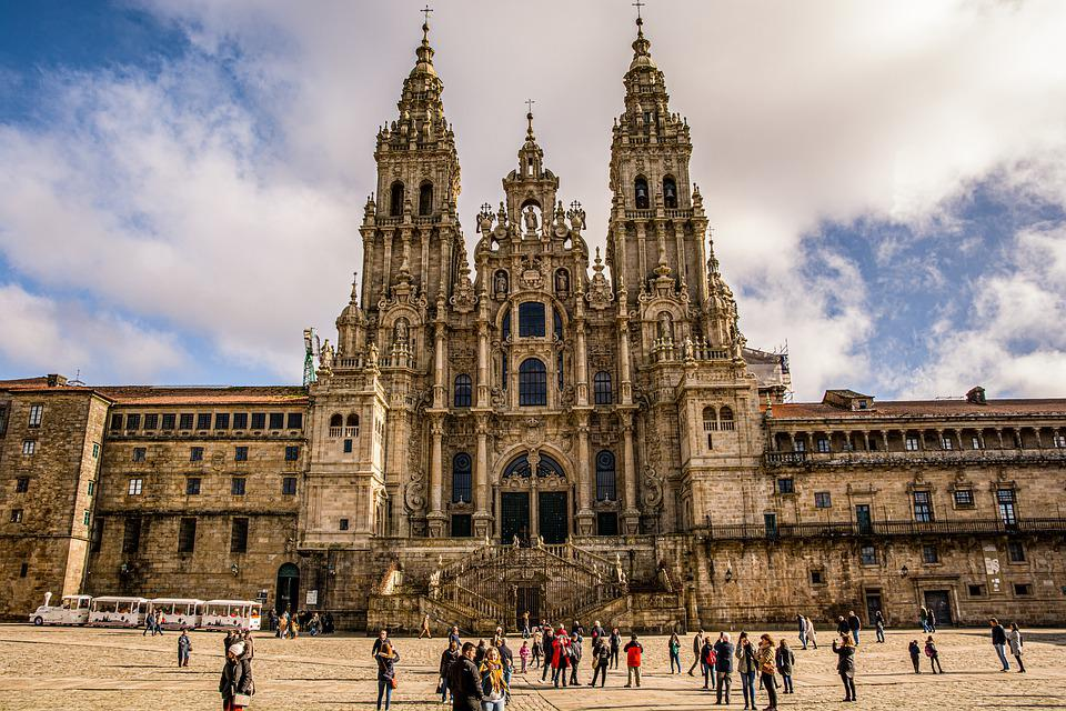 Cathédrale, Santiago, Compostela, Galice