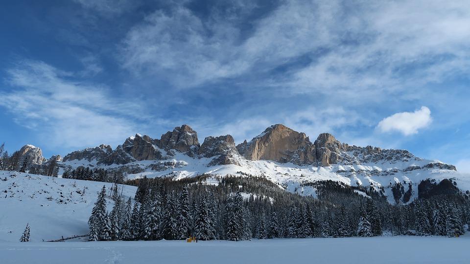 Ski, Montagna, Carezza, Inverno, Neve, Sci, Sport