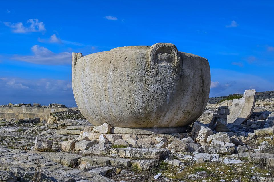 Ancient Amathus, Crater, Ruins, Archaeology, Limassol