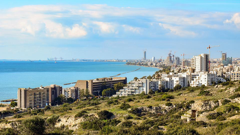 Cyprus, Limassol, City, View, Architecture, Urban