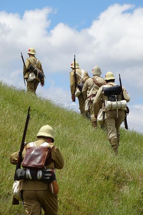 Anglo, Boer, War, Reenact, 1901