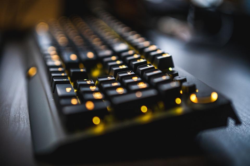 Keyboard, Teknologi, Kantor, Internet, Meja Tulis