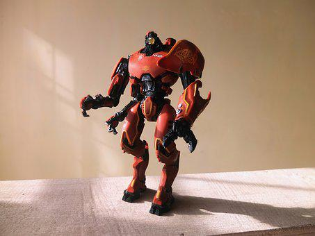 Robot Toy, Crimson, Typhoon, Film, Video