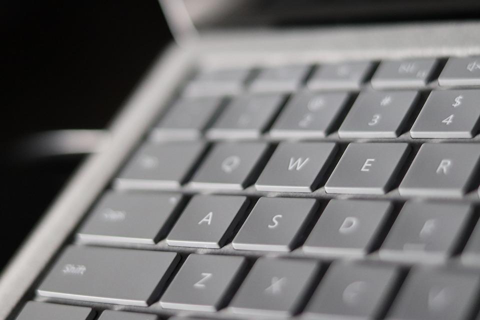 Qwerty 配列, コンピュータ, ラップトップ, 技術, キー, 入力, キーボード, Wwwの