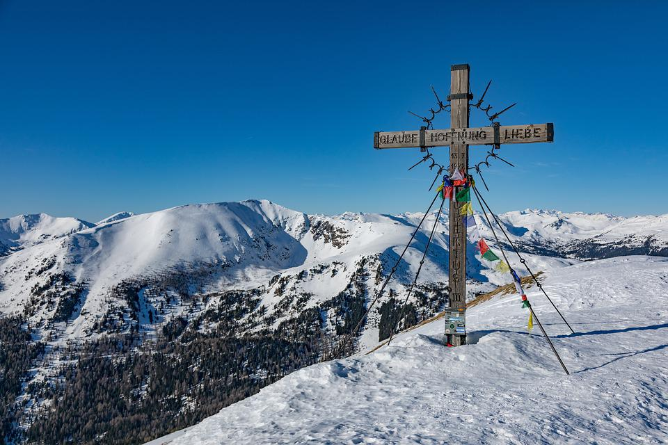 Mountain Snow Summit Pushed The Free Photo On Pixabay