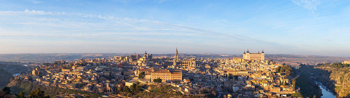 Panorama, Toledo, Spain, Tourism