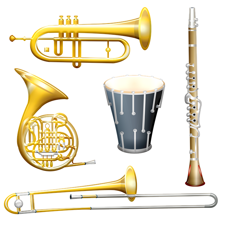 Musical Instruments Horn Drum - Free image on Pixabay
