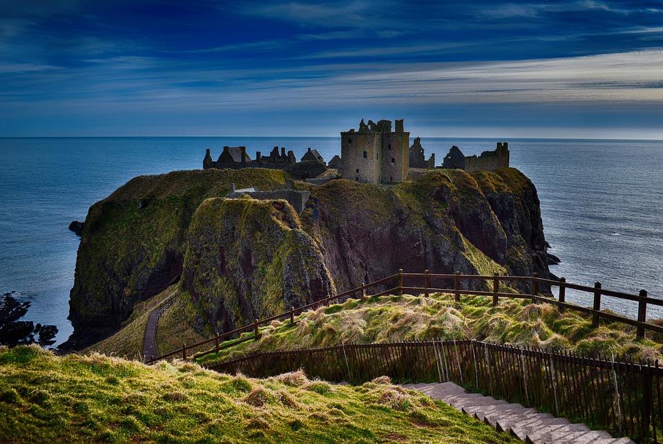 Dunnottar Castle Cliffs Aberdeen - Free photo on Pixabay