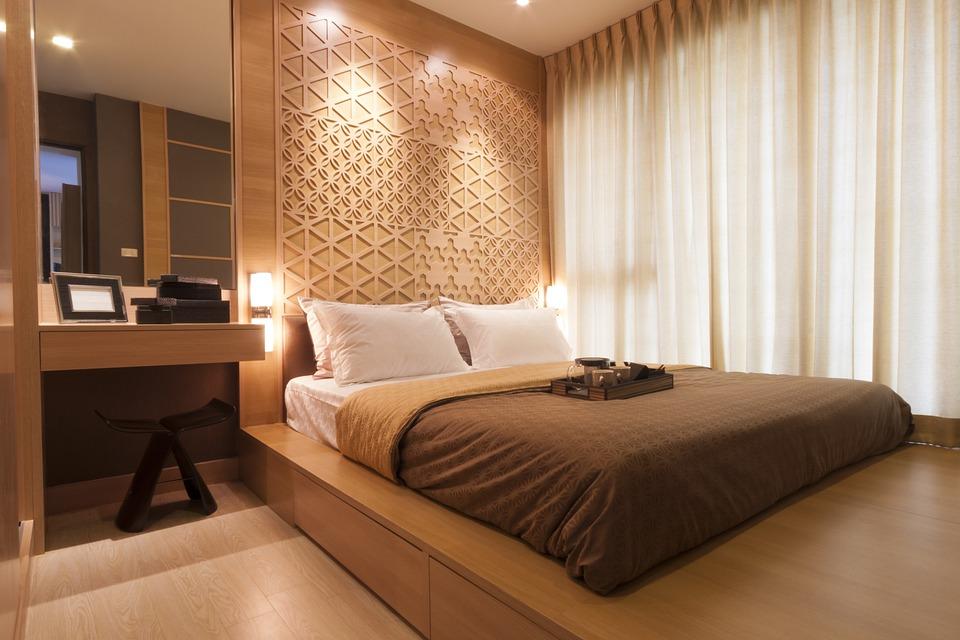 Стая, Начало, Интериор, Мебели, Украса, Дизайн, Сън