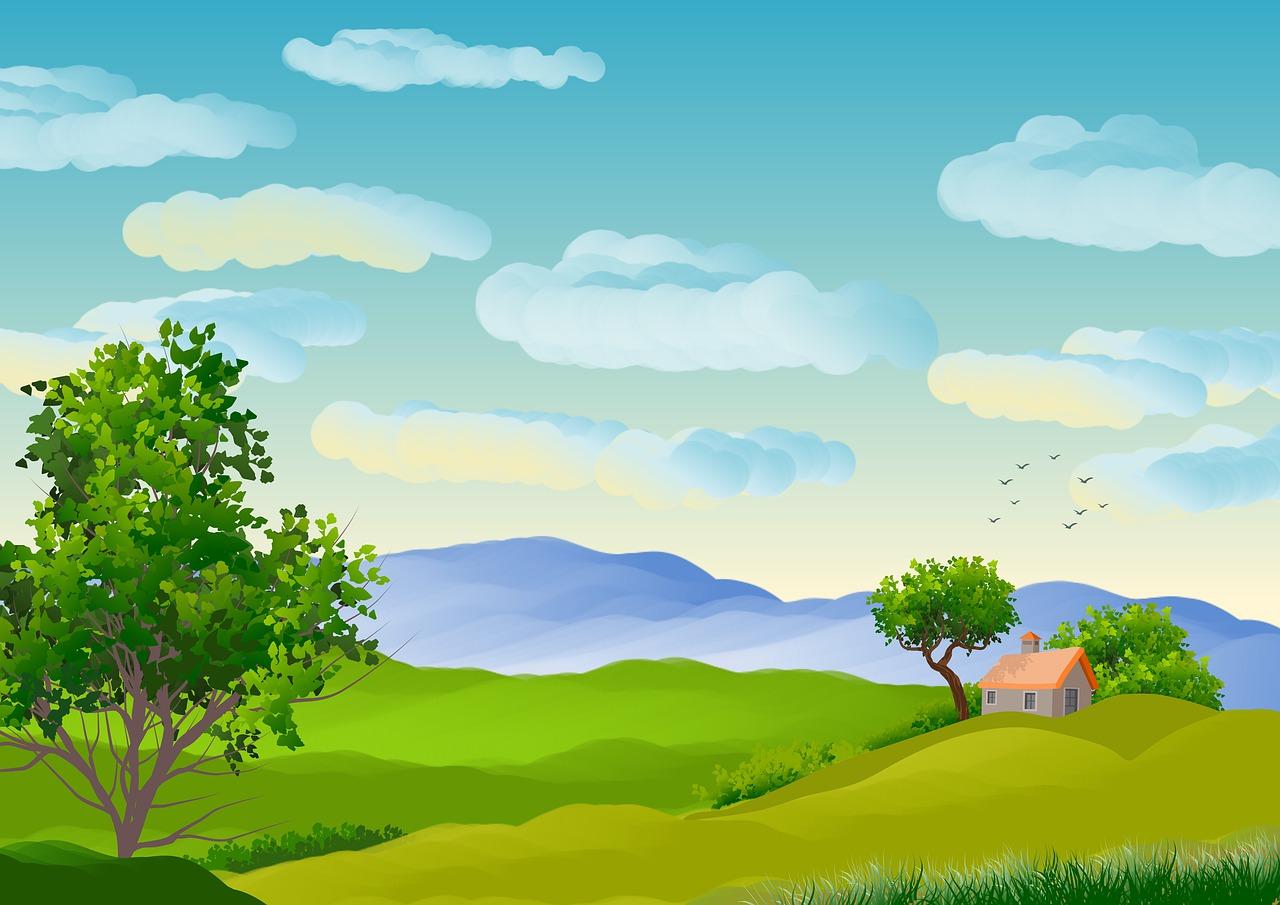 Illustration Background Landscape - Free Image On Pixabay
