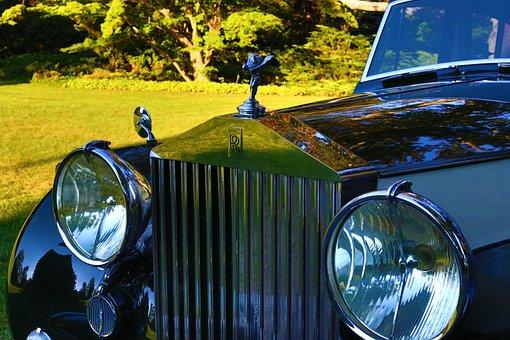 ロールス ・ ロイス, ビンテージ車, ビンテージ, 車両, 車, 古典的な