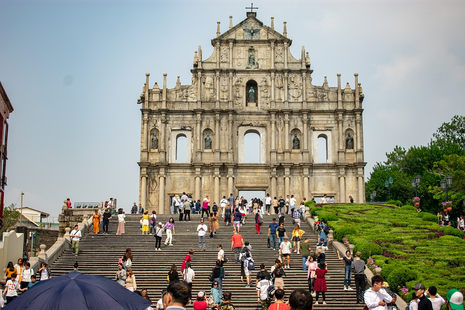 Macao, Macau, China, Architecture, Tourism, Hotel, Asia