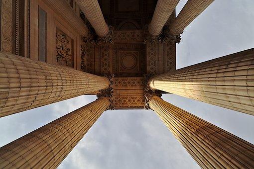 Pantheon, Geschichte, Denkmal