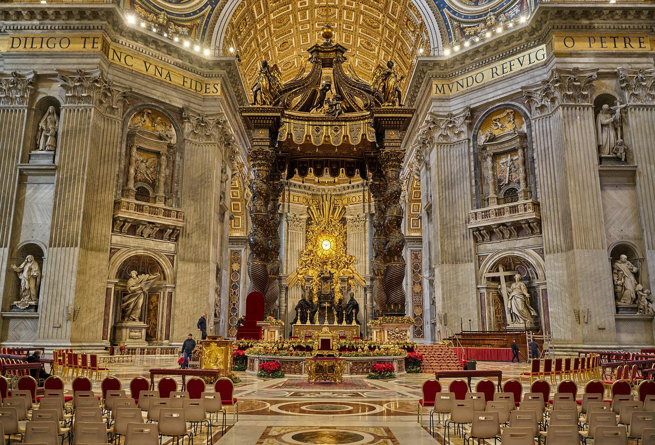 Bazilika Sv Petra Vatikan slika