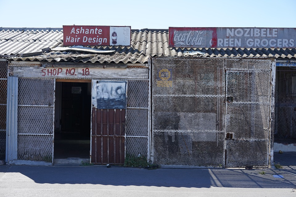 A Township Shop in South Africa