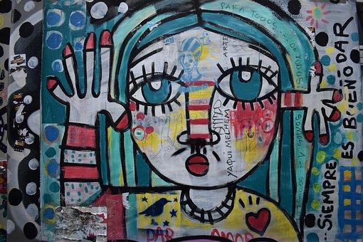 Graffiti, Girl, Goodbye, Dance, Female