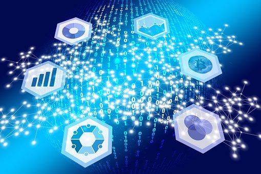 ウェブ, ネットワーク, デジタル化, 変換, デジタル, バイナリ システム