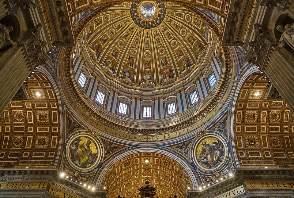 サンピエトロ大聖堂のクーポラ