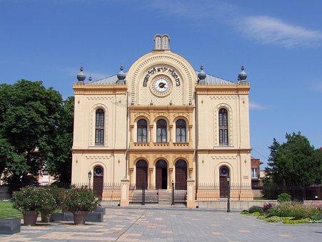 Synagogue, Jewish, 1869, Pecs, Hungary