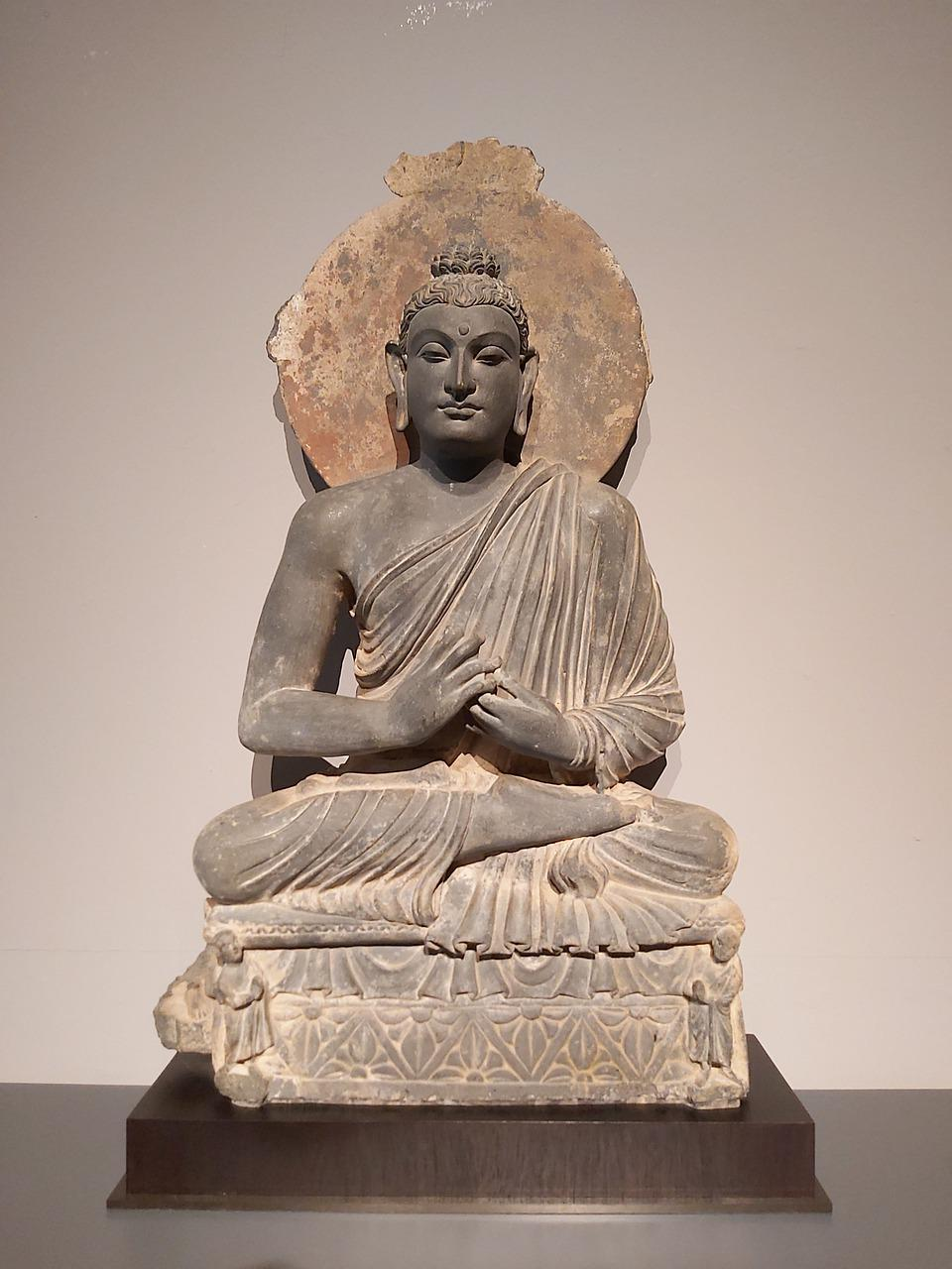 Buddha Statue Gandhara Stone Free Photo On Pixabay