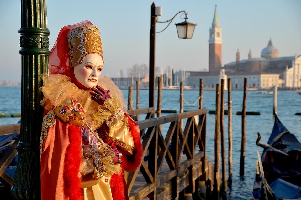 Venice, Italy, Venice Carnival, Venice Mask, Carnival