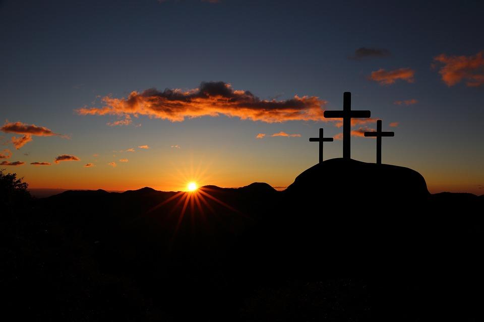 Easter, Golgotha, Jesus, Religion, Crosses, Prayer