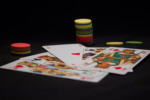 Playing Cards, Cards, King, Poker